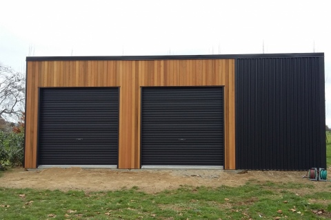 Modern Utility Shed